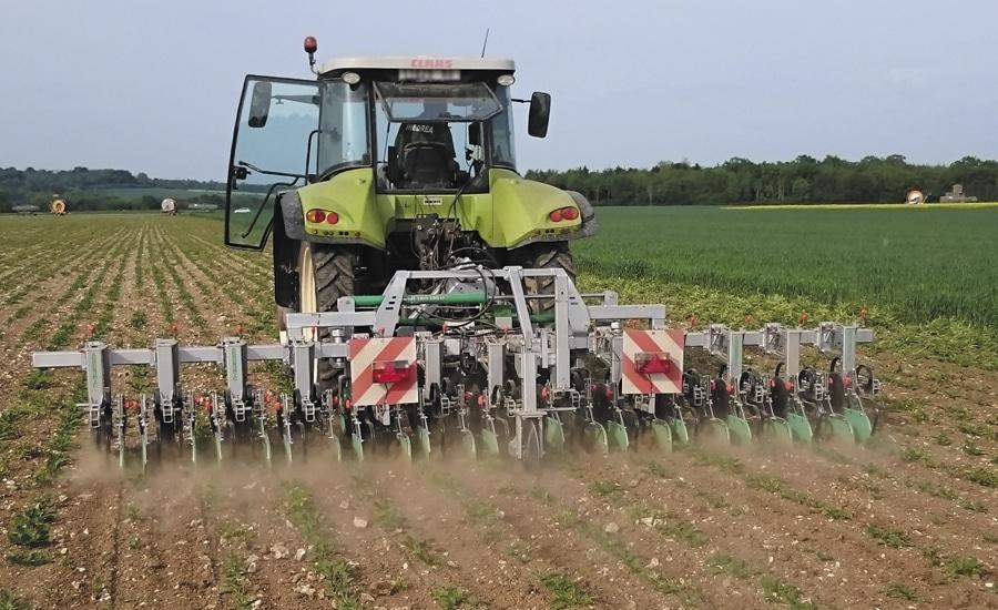Bineuse agronomic