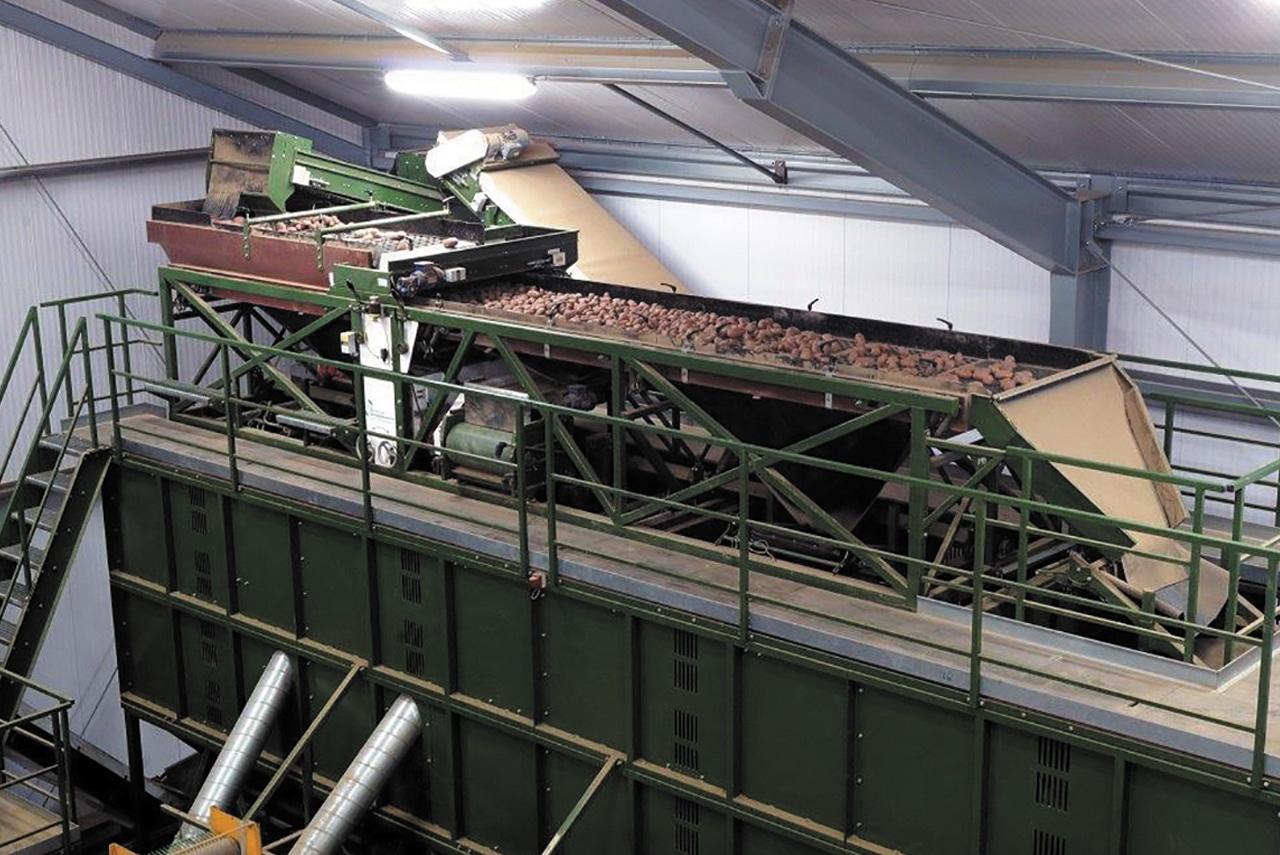 Station de triage et calibrage  pommes de terre - Schouten