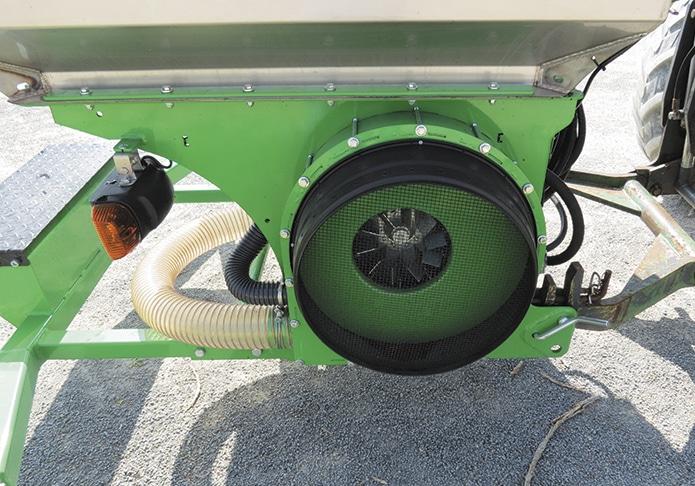 turbine houe rotative