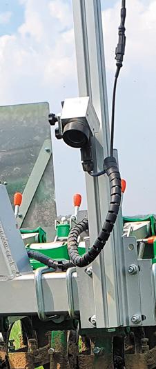 Caméra Tillet - Bineuse Agronomic